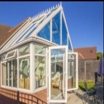 UPVC Conservatory painting in Moray 7