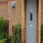 Spray Painting UPVC Doors in Alltour 1
