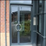 Spray Painting UPVC Doors in Alltour 7