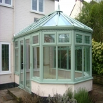 UPVC Conservatory painting in East Sussex 1