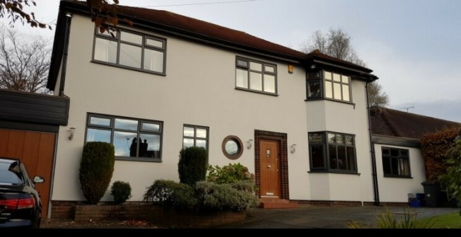 Domestic UPVC Painters in Ashford Hill